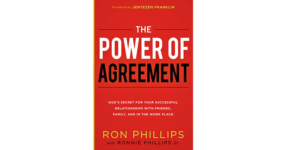 The Power Of Agreement Gods Secret To Your Successful
