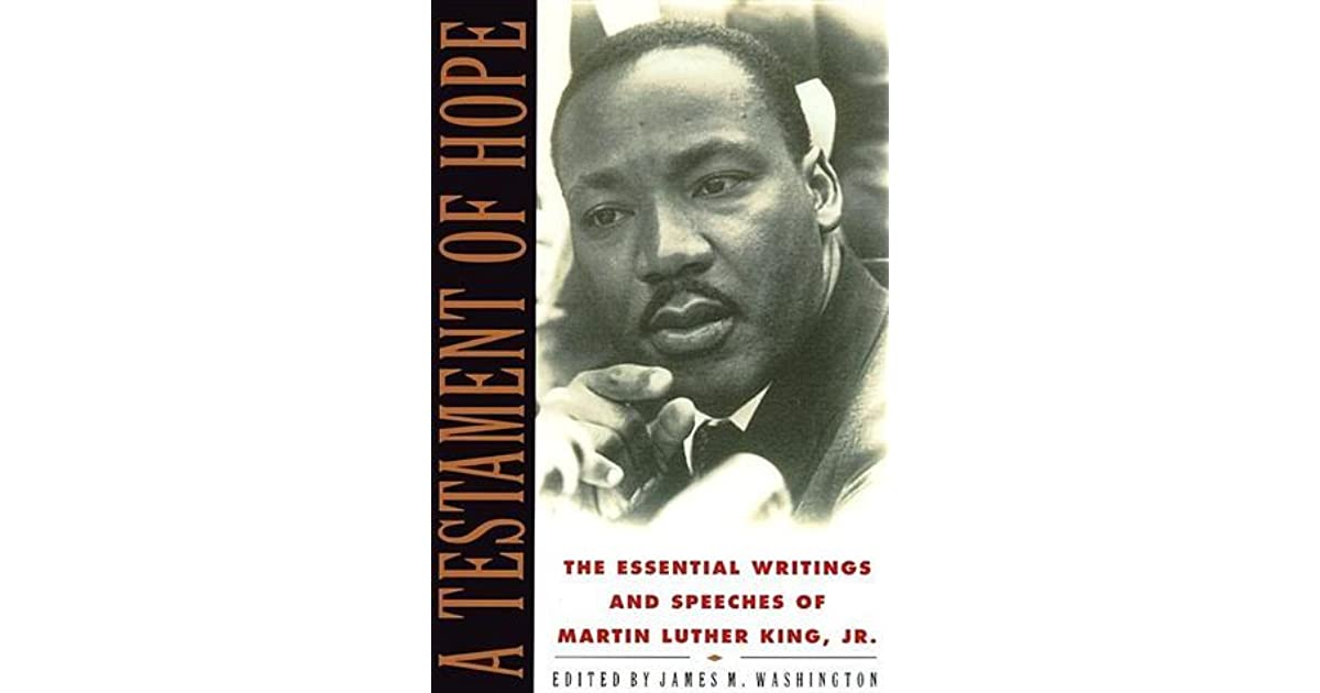 A testament of hope the essential writings and speeches by martin a testament of hope the essential writings and speeches by martin luther king jr fandeluxe Images