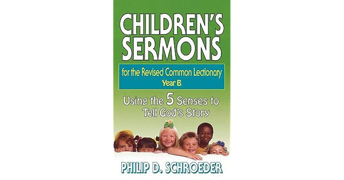 Children's Sermons for the Revised Common Lectionary Year B