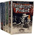 Skulduggery Pleasant #1-4: Skulduggery Pleasant, Playing with Fire, The Faceless Ones, Dark Days