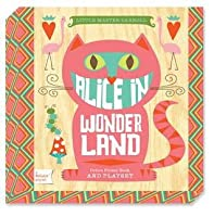 Alice in Wonderland: A BabyLit® Colors Primer Board Book and Playset