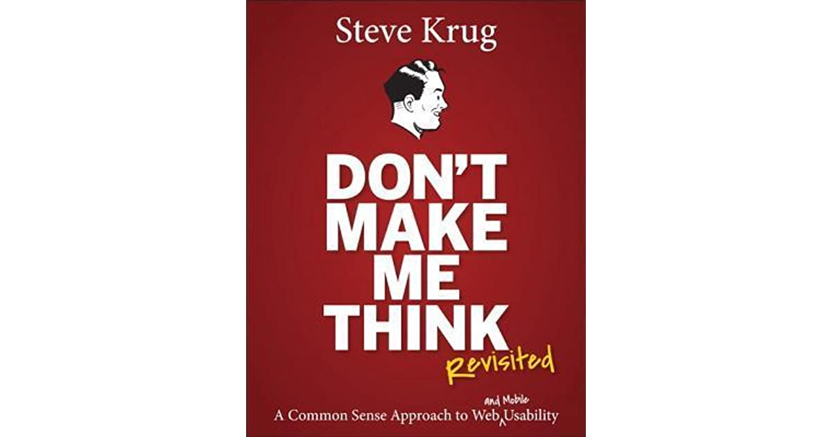 Image result for Don't Make Me Think Revisited