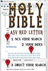 The Holy Bible: Gospel of Matthew (ASV Red Letter Edition)