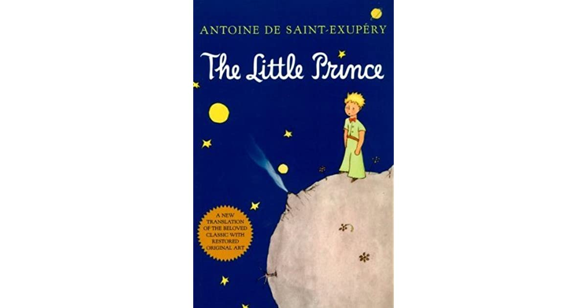 a book analysis of the little prince by antoine de saint exupry The little prince by antoine de saint-exupery chapters 1-4 what strange image did the narrator see in a book entitled true stories from nature 2.