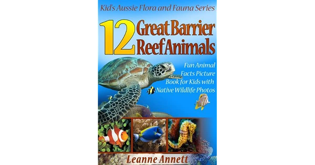 12 Great Barrier Reef Animals! Kids Book About Marine Life