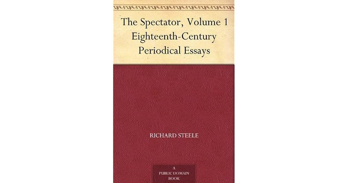 addison and steele periodical essays