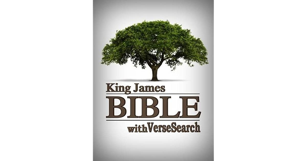 KING JAMES BIBLE with VerseSearch - Red Letter Edition by