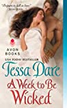 Book cover for A Week to Be Wicked (Spindle Cove #2)