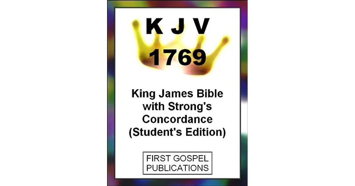 Download E Book KJV 1850 King James Bible With Strongs