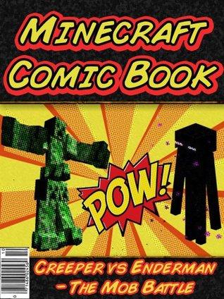 Minecraft Ederman With Comic Book