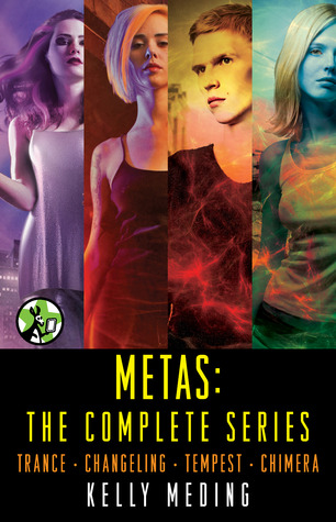 Metas: The Complete Series (MetaWars, #1-4)