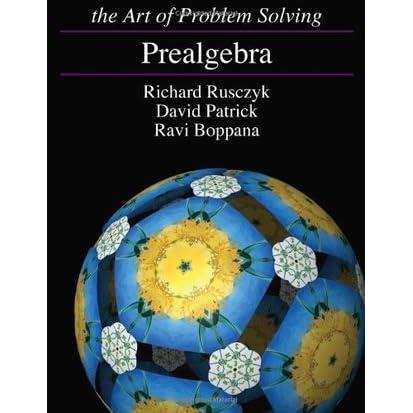 Prealgebra by Richard Rusczyk