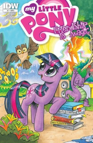 My Little Pony Friendship Is Magic #1 Cover A Comic Book - IDW
