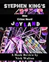 Joyland (Hard Case Crime) by Stephen King, a review