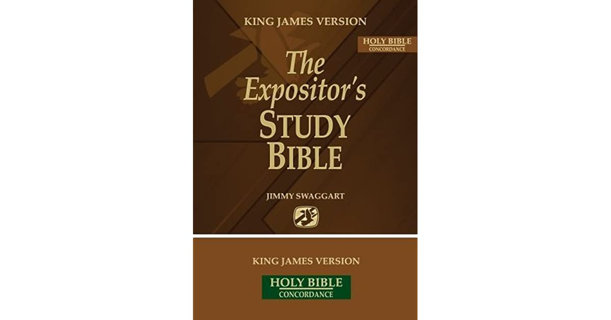 The Expositor's Study Bible by Jimmy Swaggart