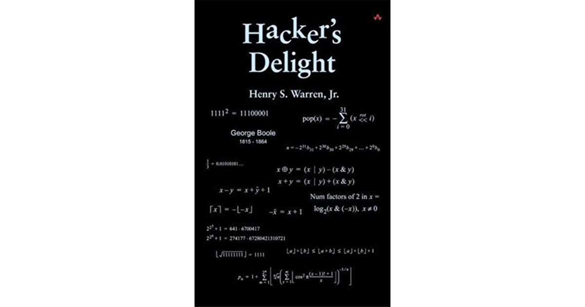 Hackers Delight Ebook