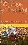 25 Days of Thankful