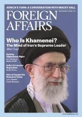 Foreign Affairs – September - October 2015