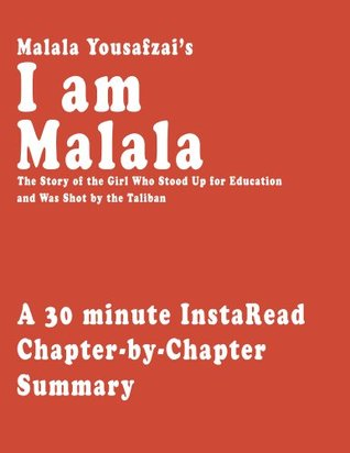 I Am Malala By Malala Yousafzai And Christina Lamb A 30 Minute