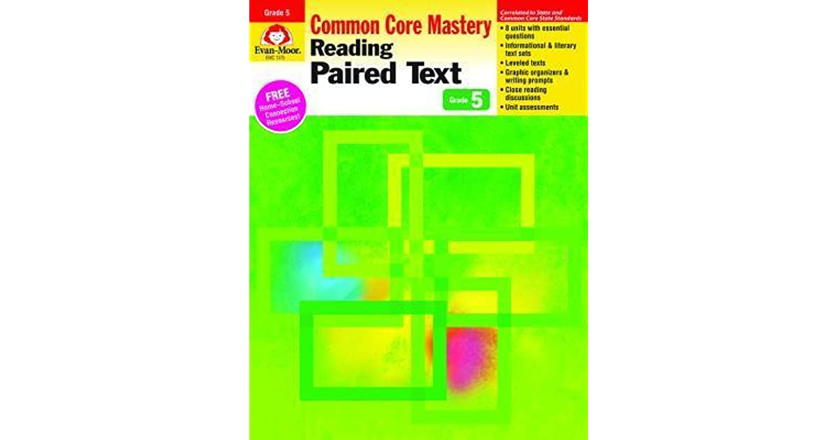 Reading Paired Text Grade 5 By Evan Moor Educational Publishing