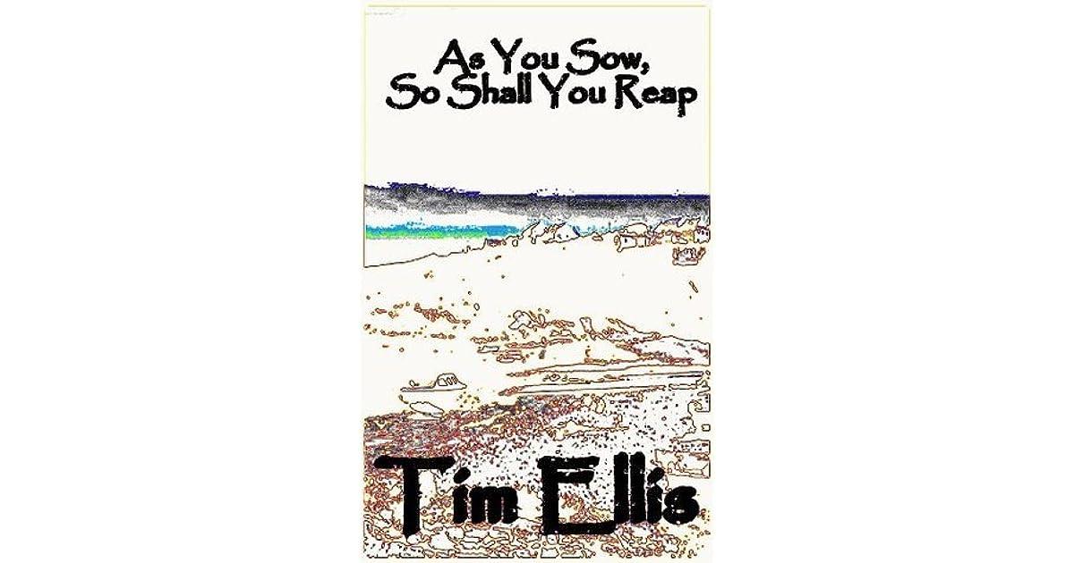 As You Sow, So Shall You Reap: (Inigo Morgan #1)