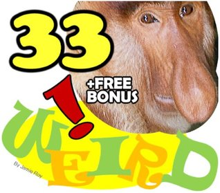 The 33 Weird Animals You May Not Know: A Kids' Learn to Read Animal Picture Book with Large and Beautiful Photos (Free Bonus: 30+ Free Online Kids' Jigsaw ... (33 Animals | Animal Fact Books for Kids)