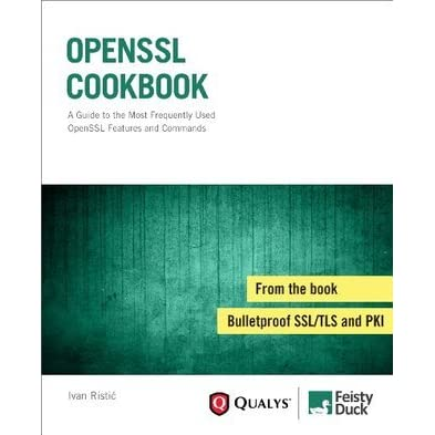 OpenSSL Cookbook by Ivan Ristic