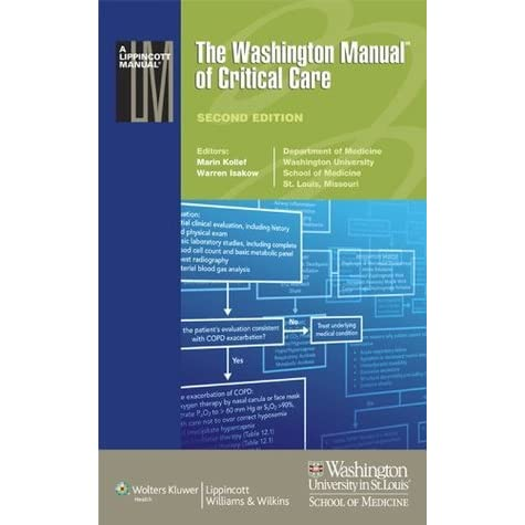 the washington manual of critical care by marin kollef rh goodreads com washington manual critical care free pdf washington manual critical care free pdf
