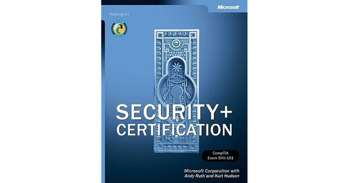 Security Certification Training Kit By Microsoft Corporation