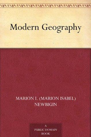 Modern Geography