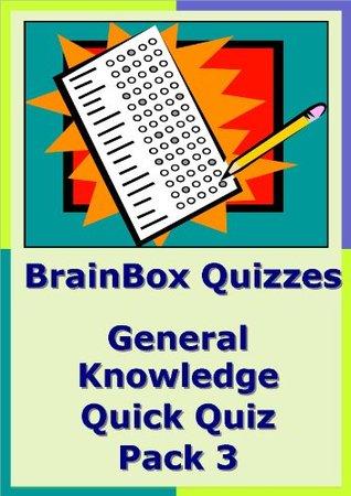 BrainBox Quizzes General Knowledge Quick Quiz Pack 3