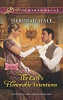 The Earl's Honorable Intentions (Glass Slipper Brides,# 3)