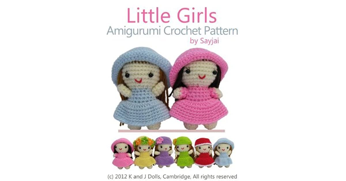 Little lady doll crochet pattern - Amigurumi Today | 630x1200