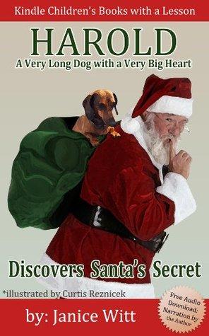 Children's Christmas Books: Harold - Discovers Santa's Secret (Includes Free Audio Download) (Harold - Dog Books for Kids)