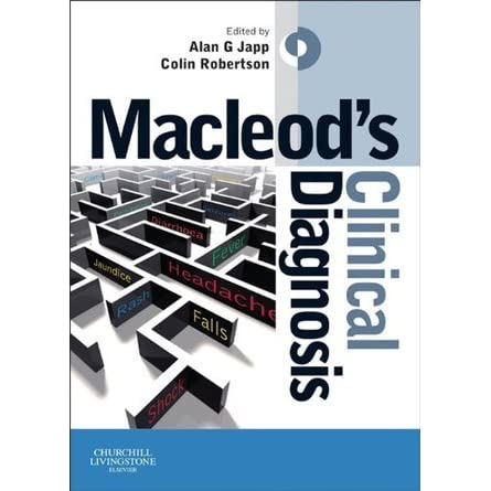 Macleods clinical diagnosis by alan japp fandeluxe Gallery