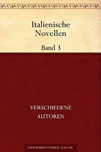Italienische Novellen, Band 3