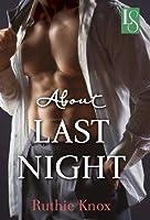 About Last Night (Loveswept)