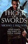 Book cover for Theft of Swords (The Riyria Revelations, #1-2)