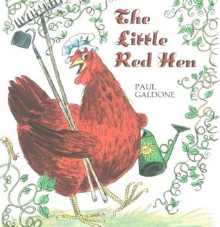 picture regarding The Little Red Hen Story Printable called The Very little Purple Chicken Substantial E book through Paul Galdone