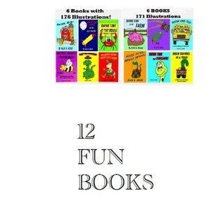 12 BOOKS: 347 ILLUSTRATED PICTURES (Children's Picture Books)