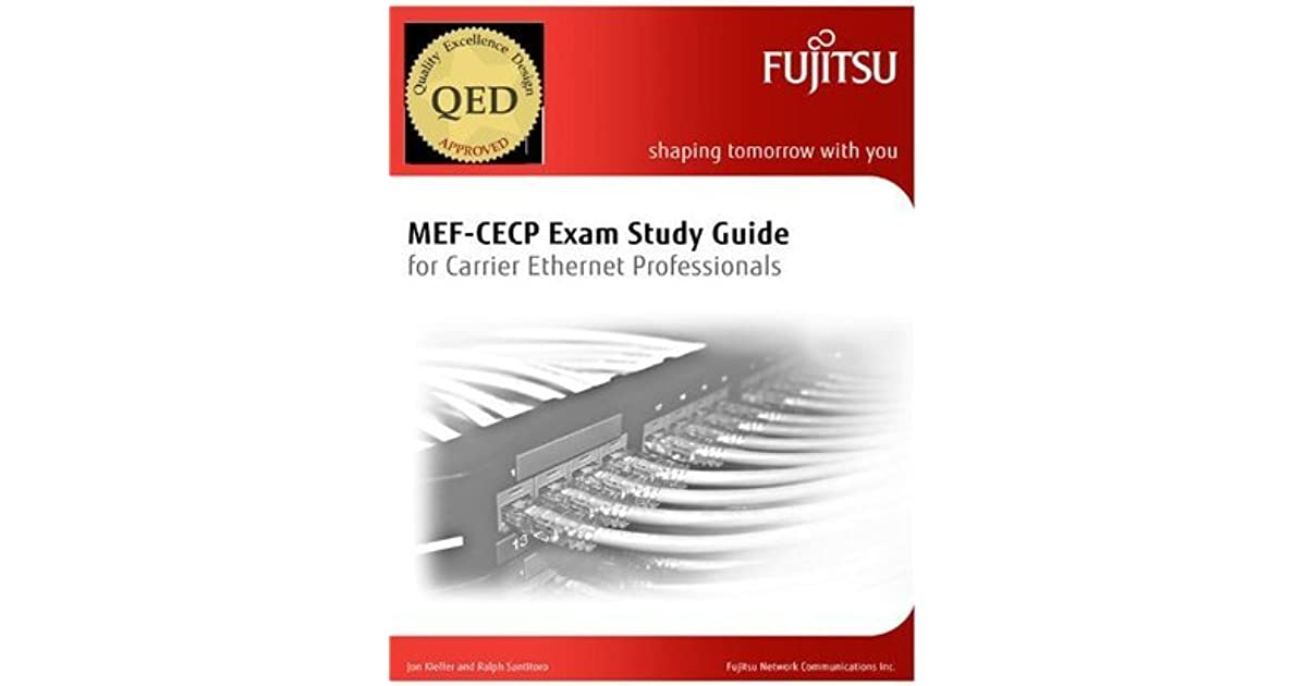 Mef Cecp Exam Study Guide By Jon Kieffer