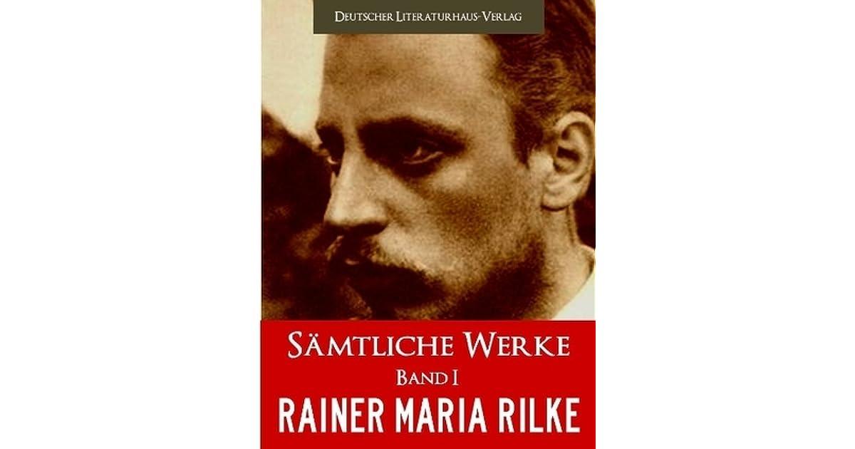 Rainer Maria Rilke Sämtliche Werke Complete Works By