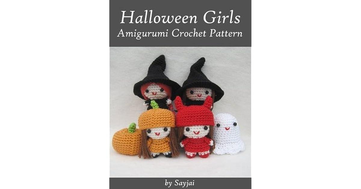 Halloween Amigurumi Crochet Pattern : Halloween girls amigurumi crochet pattern by sayjai thawornsupacharoen