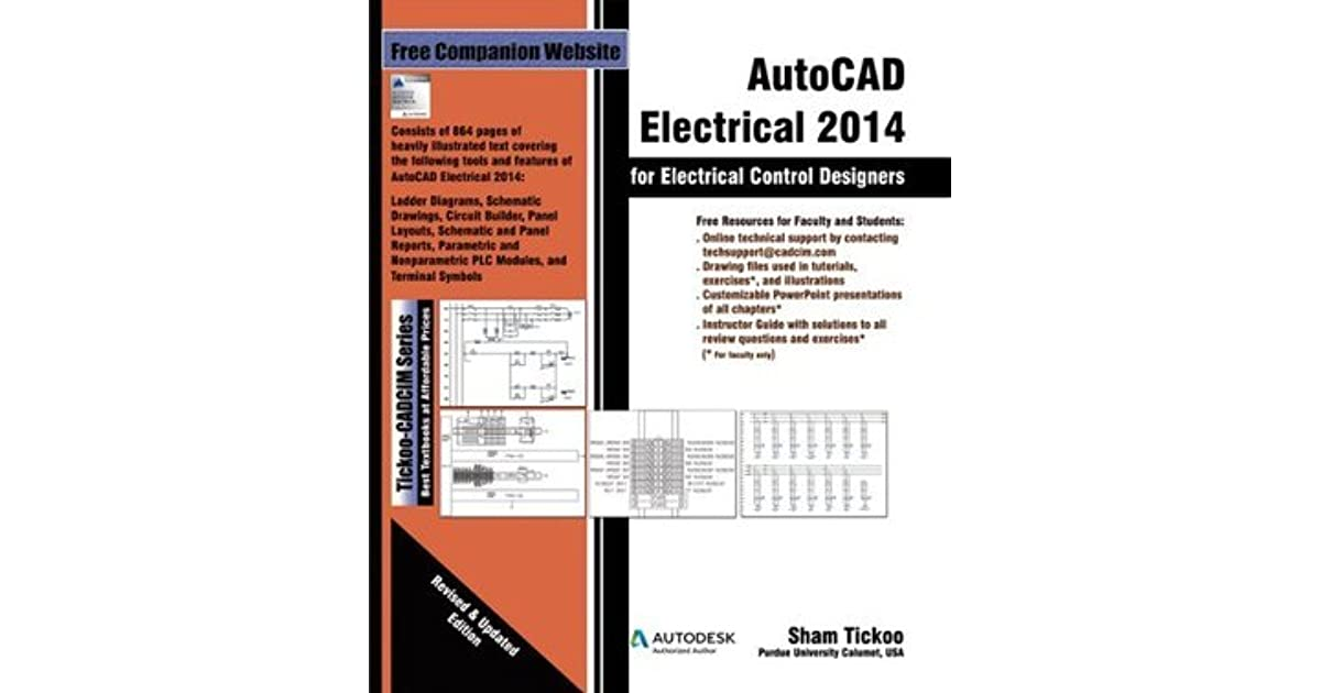 Autocad Electrical 2014 For Electrical Control Designers By Sham Tickoo