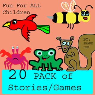 20 PACK STORIES AND GAMES (Children's Picture Books) Great for Beginner Readers and Bedtime Stories