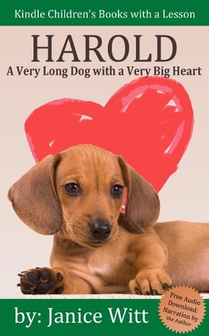 Dog Books for Kids: Harold - A Very Long Dog with a Very Big Heart: Fully Illustrated eBooks for Kids (Includes Free Audio Download)