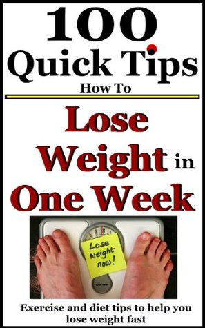 How can you lose weight in a week