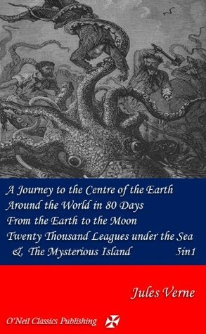 A Journey to the Centre of the Earth, Around the World in 80 Days, From the Earth to the Moon, The Mysterious Island & Twenty Thousand Leagues under the Sea