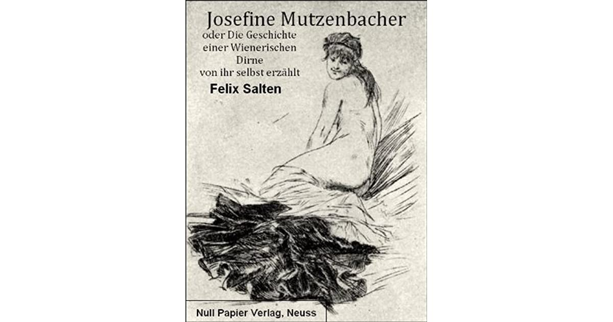 Erotische geschichten josefiner mutzenbacher