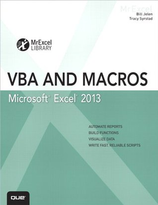 Excel 2013 VBA and Macros by Bill Jelen